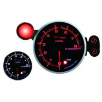 DEPO óra, műszer 115mm Fordulatszám mérő 8000 RPM Diesel